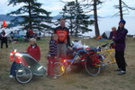 Metal Cowboy & Family at Salt Spring Island  Photo by Sue