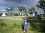 Victory! A rainbow was my reward!