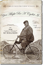 Cover of You Might Be a Cyclist If, historical photo of man on bike