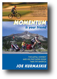 Momentum cover, bicycle in beautiful setting