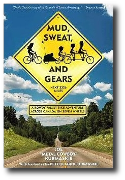 Cover of Mud, Sweat and Gears, traffic sign