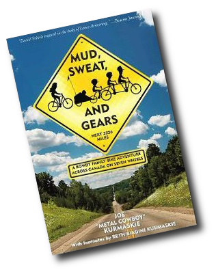 Mud Sweat and Gears Book Cover